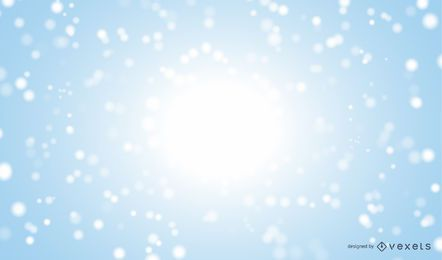 Realistic snow winter background