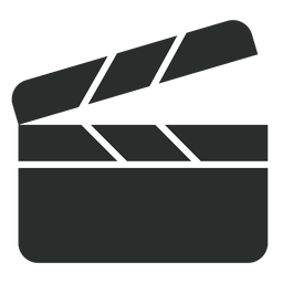 Clapperboard flat icon