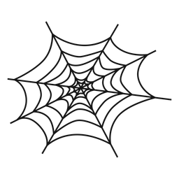 Cobweb hand drawn