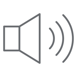 High volume stroke icon