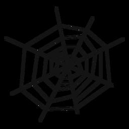 Spiderweb dibujado a mano