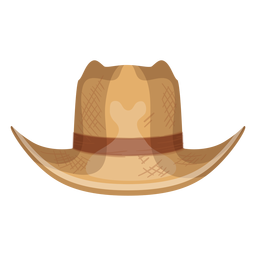 Panama hat front view icon
