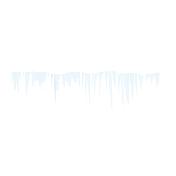 Winter icicle icon