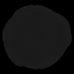 Elemento de doodle de círculo lleno