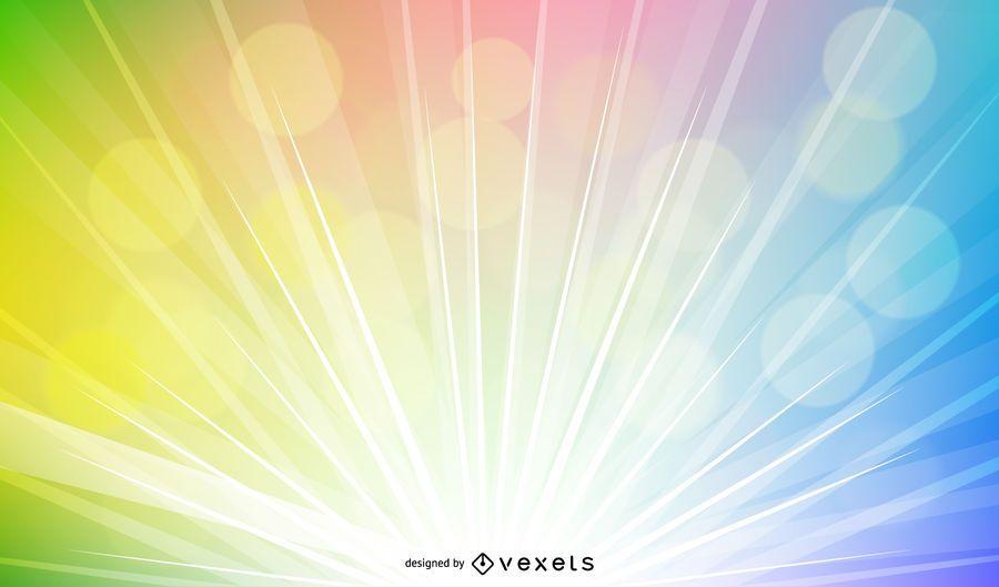 Fondo colorido y brillante