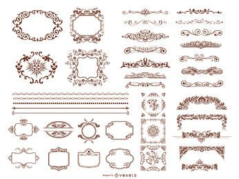 Retro Design Elements