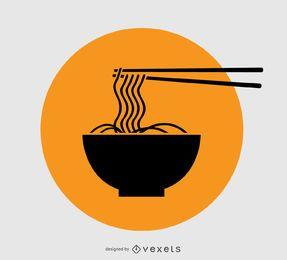 Noodles Logo Design