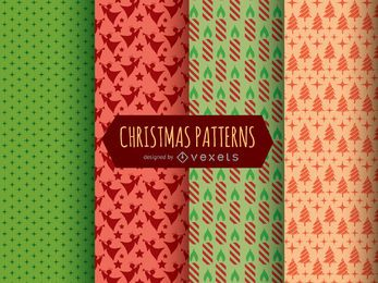 Christmas Patterns and textures