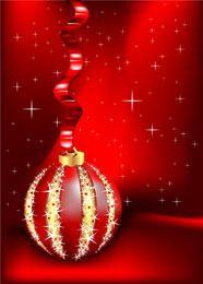 Vector hermosa tarjeta de Navidad
