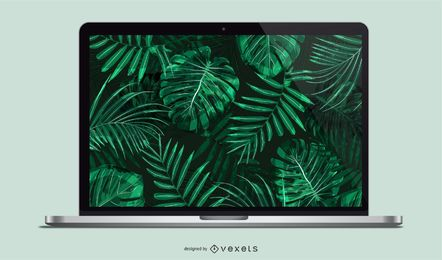 Vector Laptop Mockup