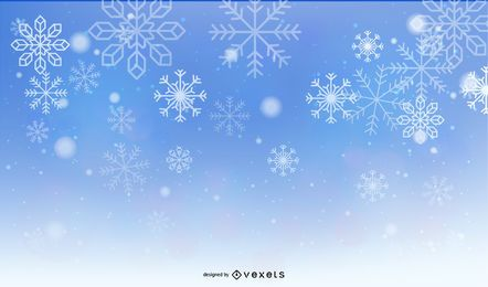 Frosty Vector Background