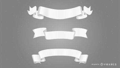 White Paper Banners