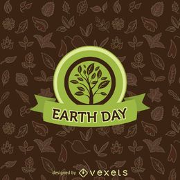 Earth Day tree emblem