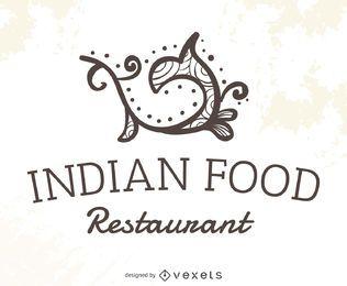 Indian food restaurant logo