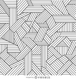 Decorative geometric outlines background