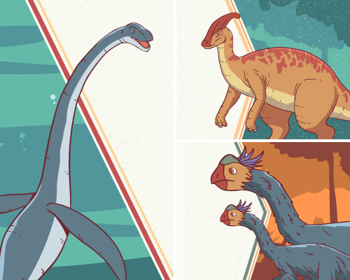 Realistic dinosaurs