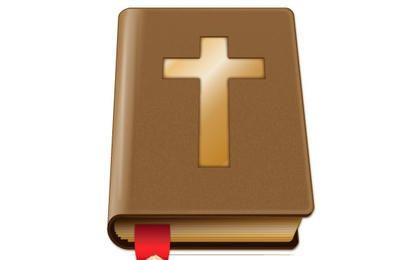 Vetor da Bíblia marrom