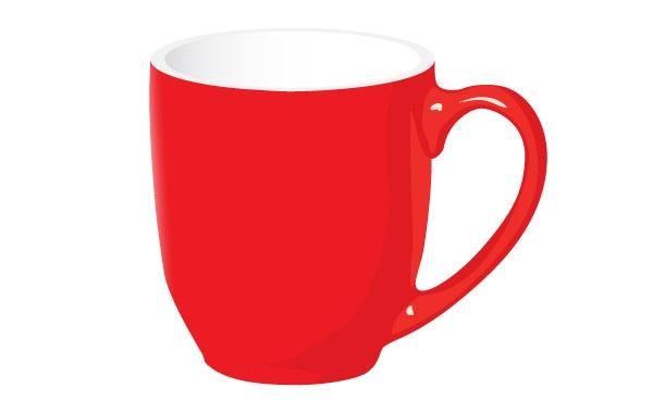 Taza de cafe vector