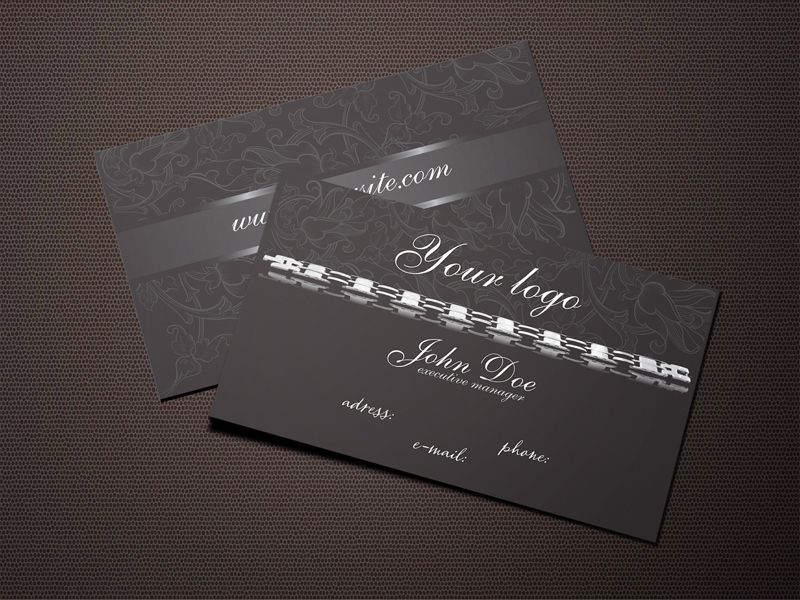 Dark jewelry business card design vector download dark jewelry business card design download large image 640x480px reheart Choice Image