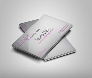 Light Avon Business Card Template