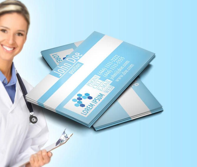 Classic Medical Profession Business Card