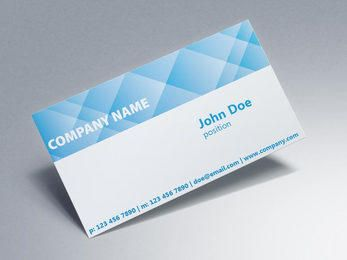 Crossing Check Corporate Business Card