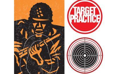 Shooting Target Practice