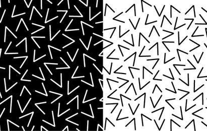 Pattern of Random Vs
