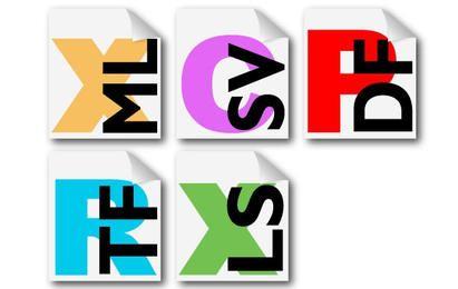 Iconos de extensión de archivo