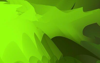 Faíscas Verdes Coloridas