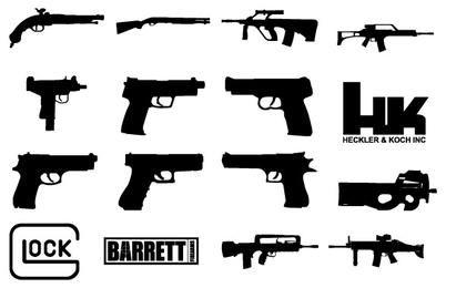 Custom Shapes: Guns Updated