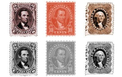 Old stamp Vectors