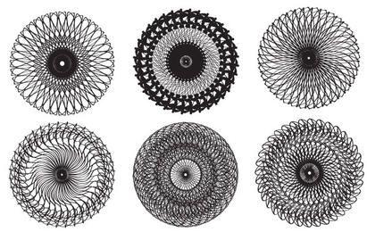 Diseños de caleidoscopio