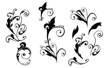 Curly Vector hand made