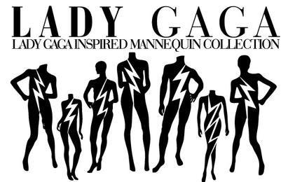 Lady Gaga Mannequin Vectors