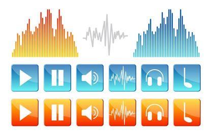 Iconos de sonido