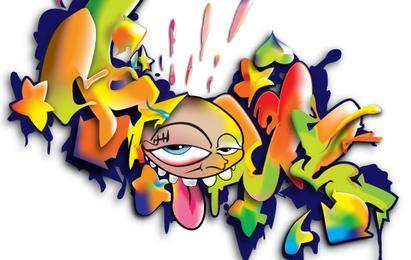 Graffiti ilustraciones