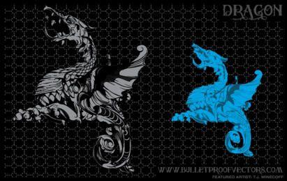 Dragón Ilustración