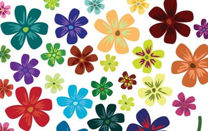 Flores do vetor