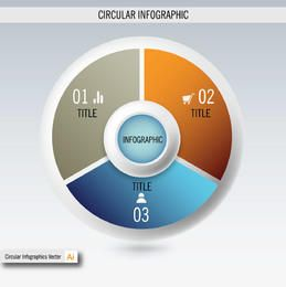 E-Commerce & Business Circular Info-graphic