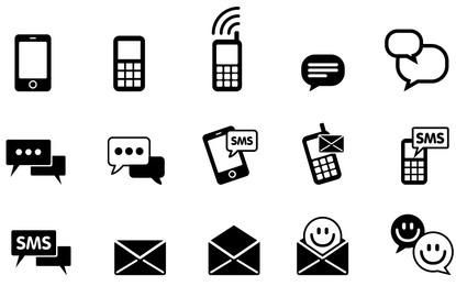 Vereinfachtes IMS & SMS Icon Pack