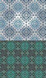 Patrón ornamental sin fisuras eslavo