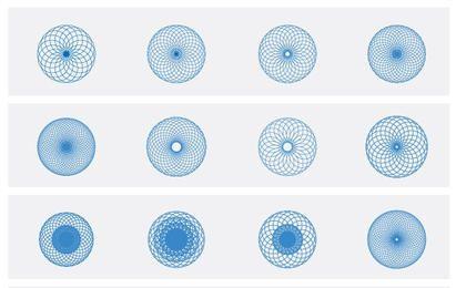 Paquete de vectores de elementos ópticos