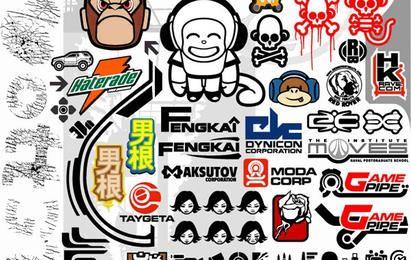 Pacote de ícones de vetor de macaco