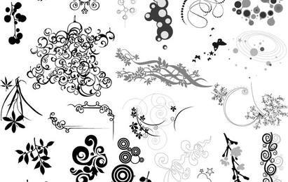 Conjunto de elementos de adorno