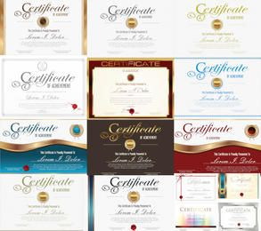 Decorative Certificate & Credential Template Pack