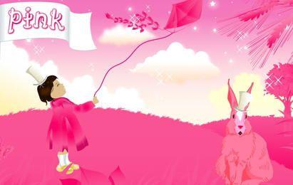la vida es de color rosa