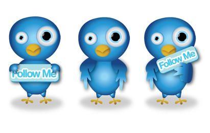 Pássaros bonitos do Twitter