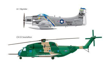 Aviões do Vietnã