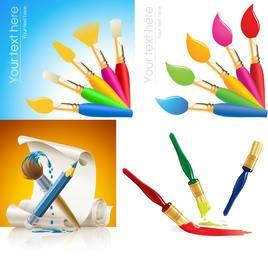 Brush Paint & Painting Pack